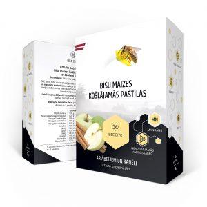 Bišu maize ar āboliem